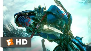 Download Transformers: The Last Knight (2017) - Optimus Arrives Scene (9/10) | Movieclips Video