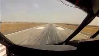 Download Heavy and Hot! C-5 Takeoff at 700,000 lbs and 37C Video