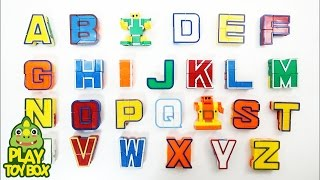 Download Learning English Alphabet ABC AtoZ for kids with Transforming Alphabet Robot Toys Video