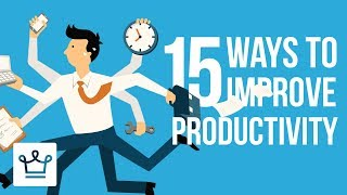 Download 15 Ways To Improve Productivity Video