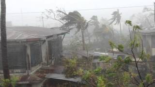 Download Exact footage of Typhoon Yolanda at Roxas City Video