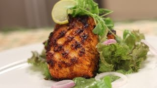 Download Tandoori Salmon | Cooking Classy with Afraz | Sanjeev Kapoor Khazana Video