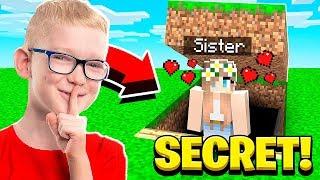 Download I FOUND MY SISTER'S BOYFRIEND'S SECRET WORLD in Minecraft! Video