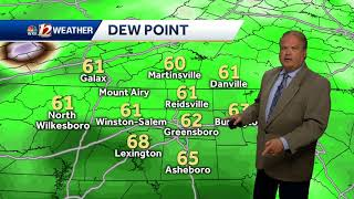 Download WATCH: Showers possible late Thursday afternoon Video