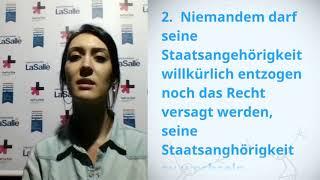 Download UDHR Video Article 15 German Deutsch Amanda Schuster Video