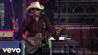 Download Brad Paisley - Then (Live on Letterman) Video