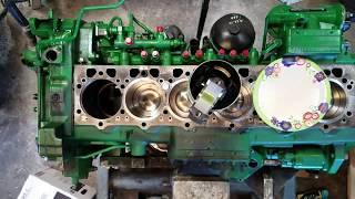 Download John Deere 8360RT 6090 engine overhaul time lapse Video