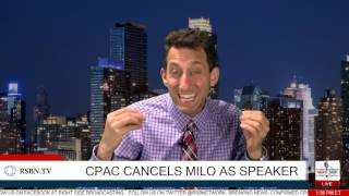 Download Breaking News: CPAC rescinds invitation to Milo Yiannopoulos Video