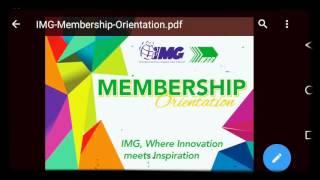 Download (IMG) membership orientation Video