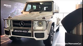 Download Mercedes-Benz G-Class G 63 AMG 2017 | Real-life review Video