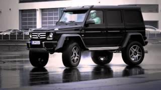 Download Mercedes-Benz G500 4×4² Video