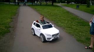 Download volvo xc90 детский электроавтомобиль volvo xc90 сhild electric car Video