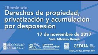Download Seminario Derechos de Propiedad, privatización y acumulación por desposesión Video