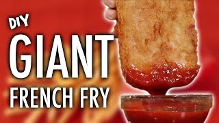 Download DIY GIANT FRENCH FRY Video