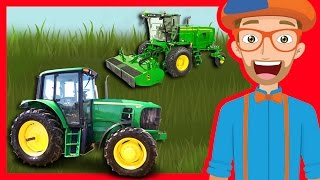 Download Tractors and Trucks for Children by Blippi | Educational Videos for Kindergarten Video