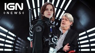 Download Star Wars: Here's the Advice George Lucas Gave to Rogue One Director Gareth Edwards - IGN News Video