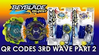 Download Beyblade Burst Hasbro QR Codes 3rd Wave Part 2 for Beyblade Burst Hasbro App March 6th Video