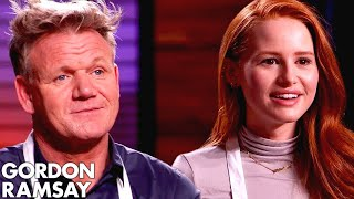Download Gordon Ramsay vs Madelaine Petsch In VEGAN MASTERCHEF COOK OFF! Video