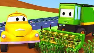 Download Τομ το Ρυμουλκό - Η Θεριστική Μηχανή - Αυτοκινητούπολη 🚗 Κινούμενα σχέδια για Παιδιά Video