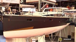 Download 2017 Beneteau Sense 51 Yacht - Hull, Deck and Interior Walkaround - Debut at 2016 Salon Nautiq Video