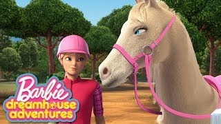 Download Trey is For Horses! | Episode 11 - Barbie Dreamhouse Adventures 💖 Barbie Cartoons Video