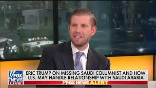 Download Eric Trump on Jamal Khashoggi Video