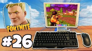 Download KEYBOARD & MOUSE On Fortnite Mobile iPad / iPhone | Fortnite Battle Royale IOS/Android Part 26 Video
