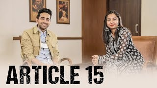 Download What is Article 15? Ft. Ayushmann Khurrana | #RealTalkTuesday Video