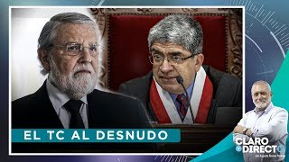 Download El TC al desnudo - Claro y Directo con Augusto Álvarez Rodrich Video