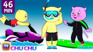Download Three Little Kittens Went To The Beach - Nursery Rhymes by Cutians™ | ChuChu TV Kids Songs Video