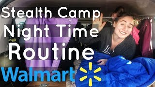 Download VAN LIFE: Walmart Night Time Routine // Stealth Camping // Solo Travel! Video