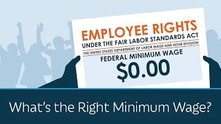 Download What's the Right Minimum Wage? Video