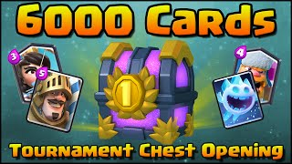 Download Clash Royale - 6000 CARDS Tournament Chest Opening! First Ever! Video