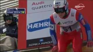 Download Neuer Weltrekord in Skispringen 15.02.15 in Vikersund - Anders Fanenemel 251,5m!!!!!! Video
