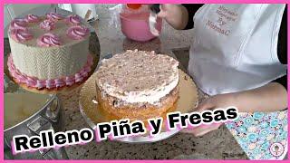 Download Pastel 3 Leches Relleno De Piña Y Fresas SENCILLO Video