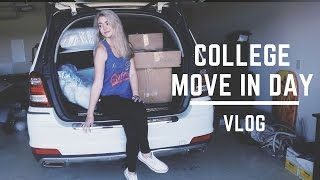 Download COLLEGE MOVE IN DAY VLOG: FRESHMAN EDITION Video