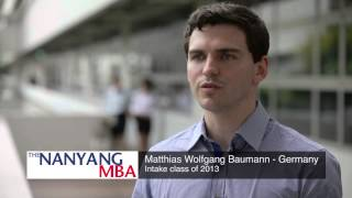 Download Initial students' impression on their Nanyang MBA learning experience Video