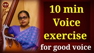 Download Voice exercises for Carnatic Music Tristhayi Exercises for good voice Video
