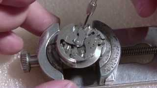 Download How I take apart a wrist watch, Croton Aquamatic Video