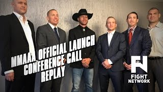 Download Mixed Martial Arts Athletes Association Official Launch Conference Call Video