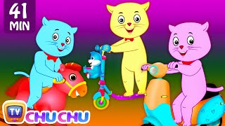 Download Three Little Kittens Went To The Park - Nursery Rhymes by Cutians™ | ChuChu TV Kids Songs Video