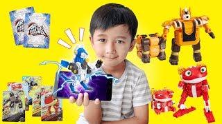 Download KEREN BANGET!! Kartu Tarung Dragon Warrior - Dapat Mainan Robot Lipat Video