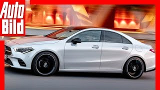 Download Zukunftsaussicht: Mercedes CLA (2019) Details / Erklärung Video