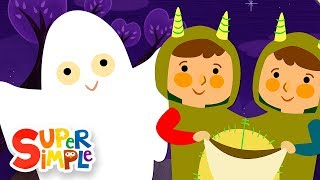 Download Knock Knock, Trick Or Treat? | Halloween Song | Super Simple Songs Video