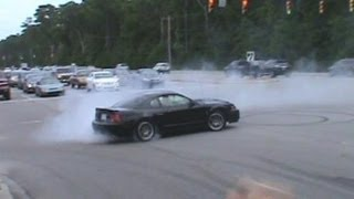Download Mustang Week 2012 Leaving Show Burnouts & Pullouts & Myrtle Beach Speedway Burnout Contest Video