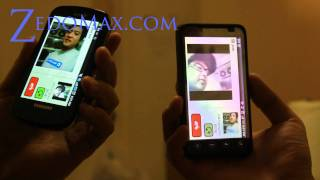 Download Fring Video Chat Demo on Android - Samsung Epic 4G and HTC Evo 4G Video