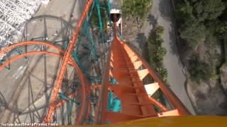 Download Goliath (On-Ride) Six Flags Magic Mountain - Valencia, California Video