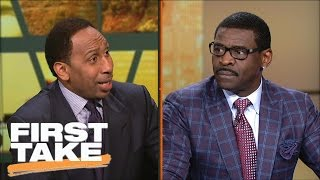 Download Stephen A. Smith Clashes With Michael Irvin Over Tony Romo | First Take | March 24, 2017 Video
