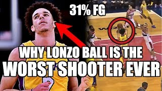 Download Why Lonzo Ball is the WORST Shooter in NBA History Video