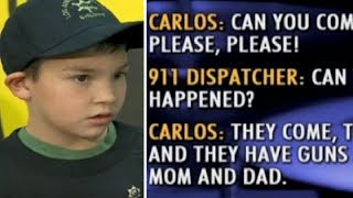 Download Terrified 7-yr-old boy hides in bathroom with sister. calls 911 and yells Bring cops... Lots of them Video